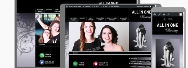 Re-Design der Homepage